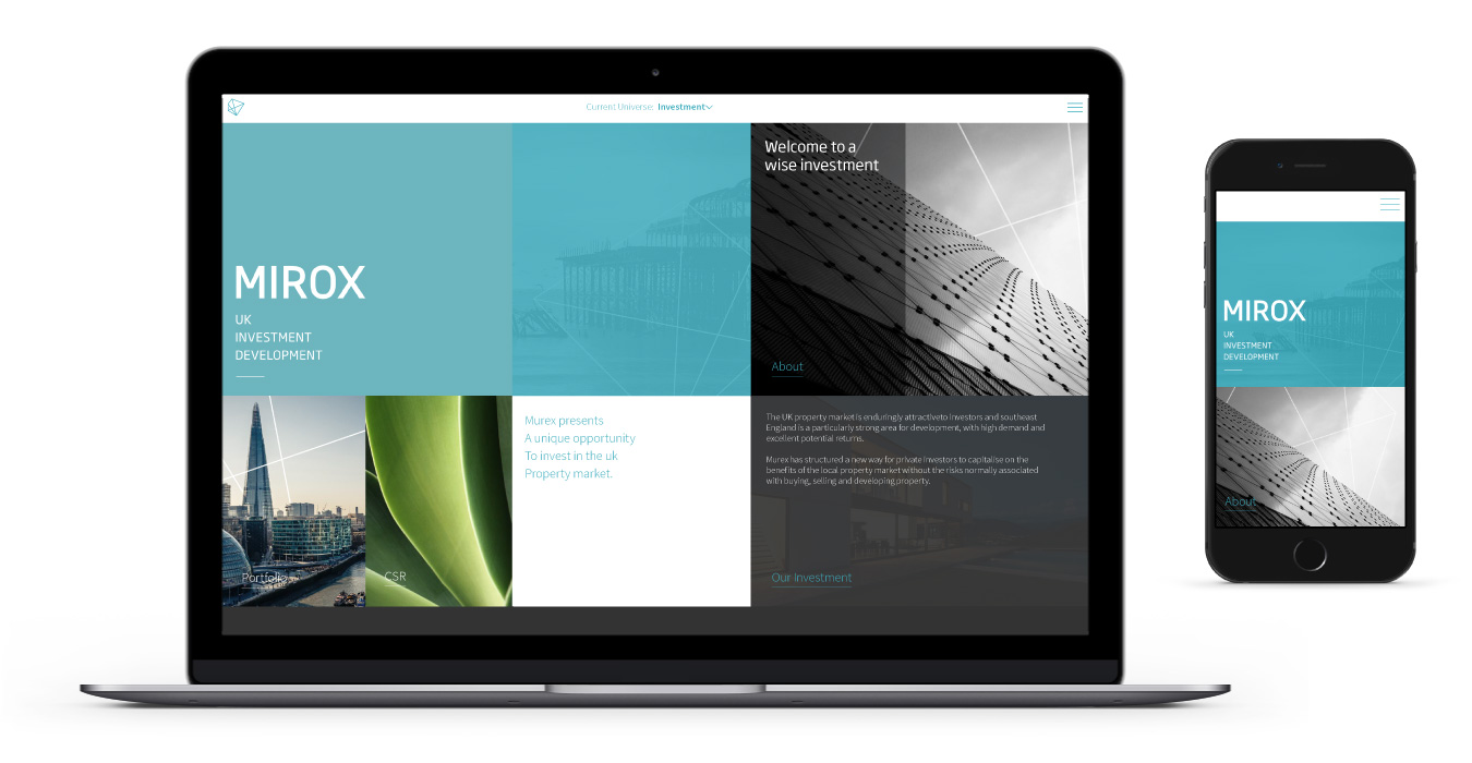 Mirox Responsive Website Design