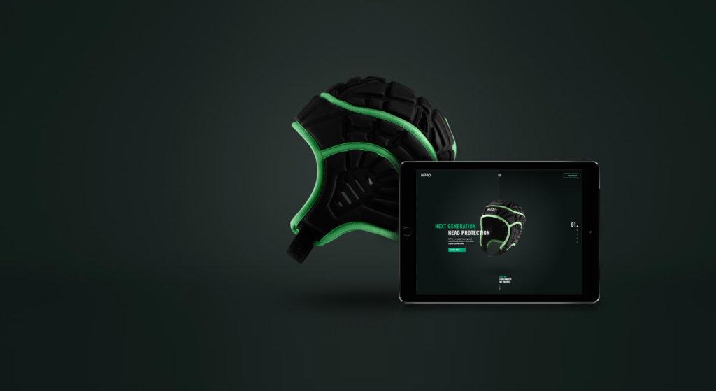 NPro Headgear Product and Website Hero