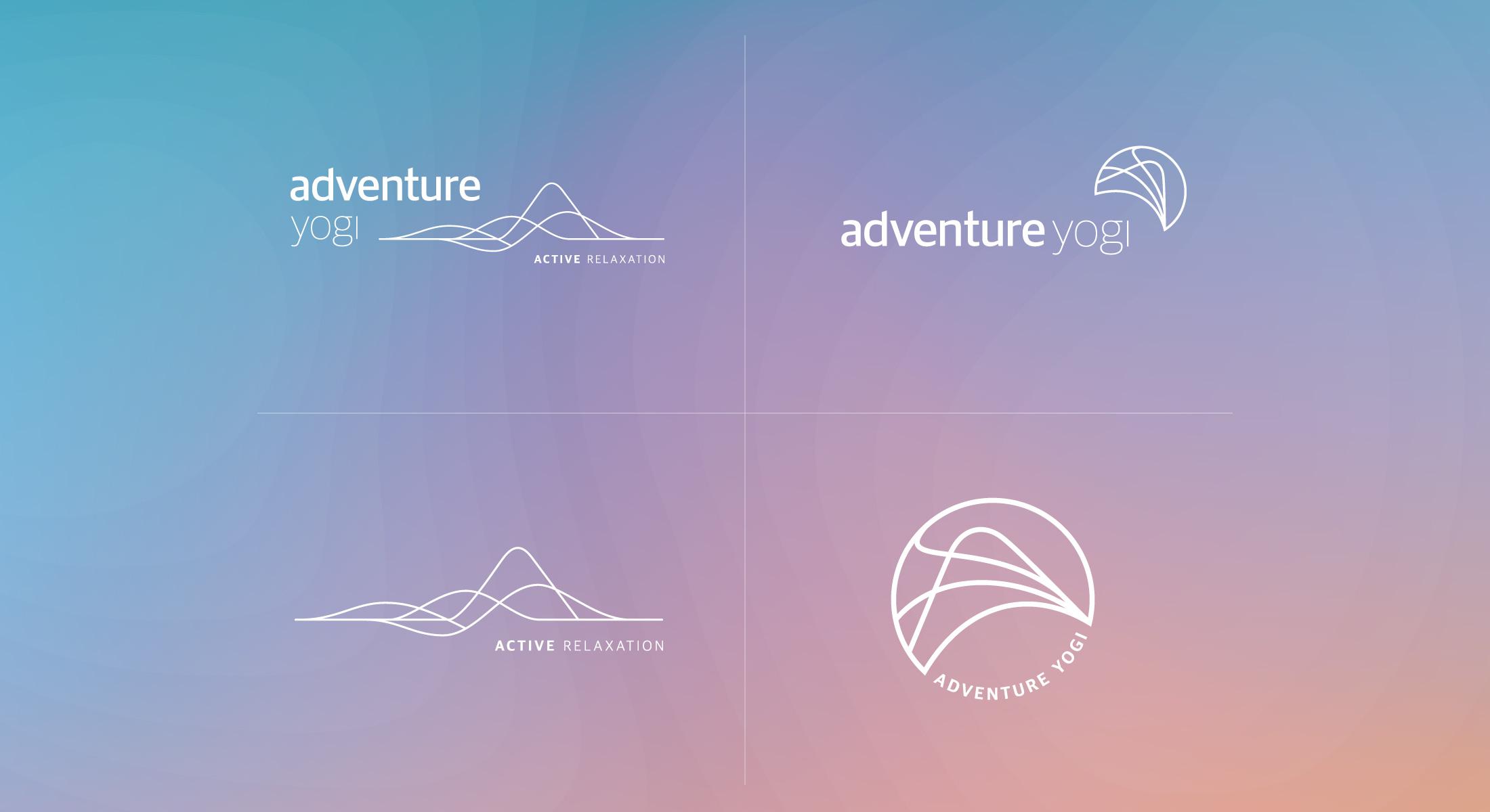 Adventure Yogi Logos