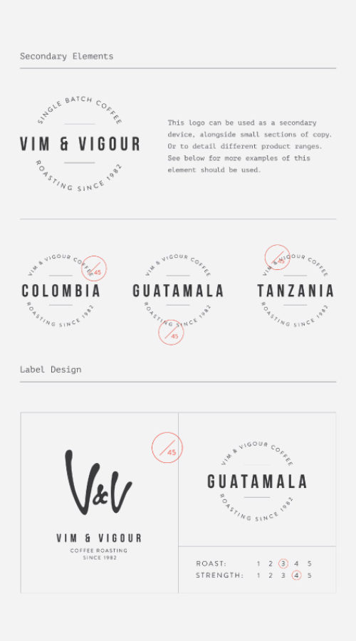 vim and vigour brand guidelines